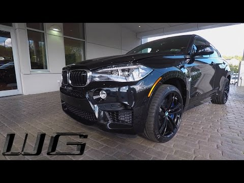 2017 BMW X6 M  Triple Black | One Take, Exterior, Interior & Exhaust