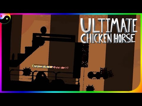 TRAPPED BY SATAN HIMSELF! (Ultimate Chicken Horse w/ Friends)