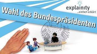 Wahl des Bundespräsidenten einfach erklärt (by explainity®) mit Playmobil