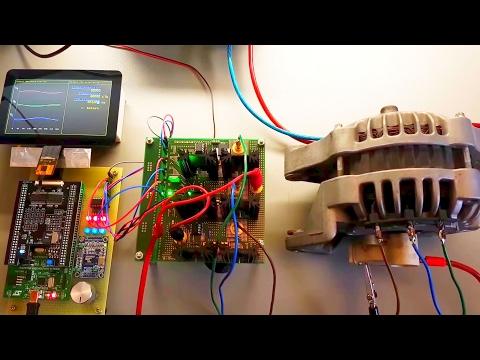 STM32-based ultimate 3-Phase Motor Controller - Test 4