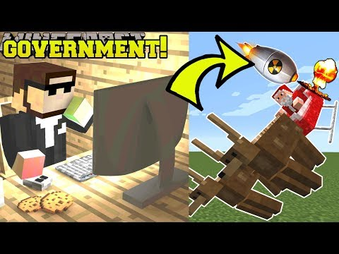 Minecraft: GOVERNMENT SHOOTS DOWN SANTA!! - Boy Santa Has It Tough - Custom Map