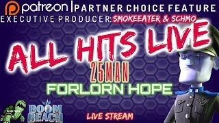 Boom Beach - ALL HITS LIVE - FORLORN HOPE! - Medkit or Bust! - Produced by: Schmo & SmokeEater