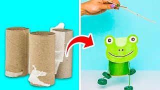 25 COZY DECOR DIY PROJECTS WITH SIMPLE THINGS || Toilet Paper Roll Crafts by 5-Minute DECOR!