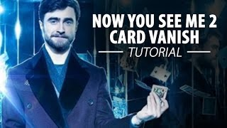 Now You See Me 2 – Card Vanish TUTORIAL