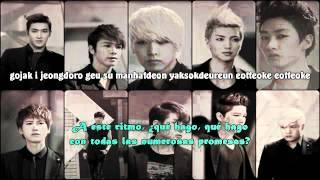 Super Junior - Daydream (머문다) Sub español + Rom. lyrics