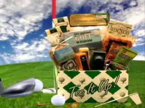 Golfer's Gift Basket Ideas