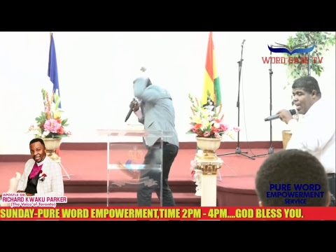 PROPHETIC ATMOSPHERE SERVICE ( THE WATERS SHALL BE HEALED)