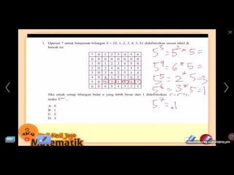 Olimpiade Matematika OSN Pembahasan Soal 12 2015