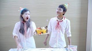 Làm Bánh Sinh Nhật Khổng Lồ Tặng Đại Ca Cách Thật Bất Ngờ | Happy Birthday Cake