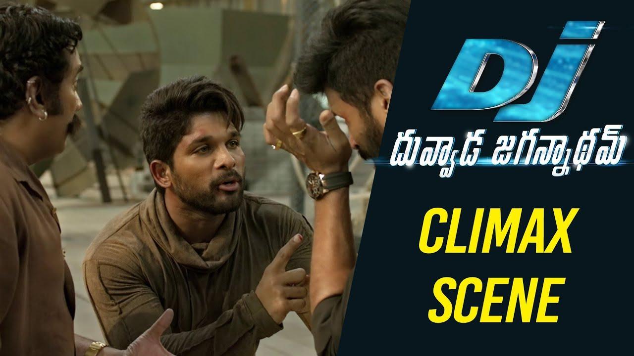 DJ Duvvada Jagannadham Scenes - Climax Fight Scene - Allu Arjun, Rao Ramesh