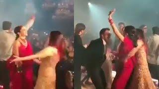 Deepika & Aishwrya's MAD Dance In Front of Ranveer & Abhishek @Mukesh Ambani's Daughter Isha WEDDING