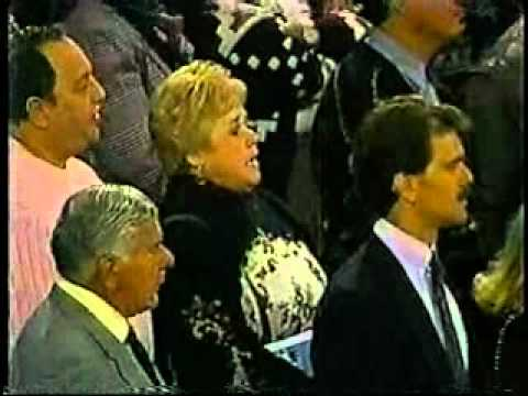 1991 NHL All-Star Game - National Anthem in Chicago