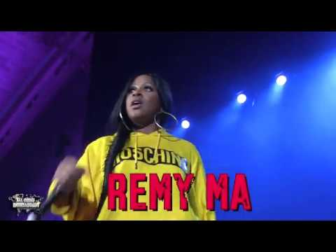 "REMY MA PERFORMING ""SHETHER"" LIVE @ BROADWALK HALL IN A.C 3/18/17"