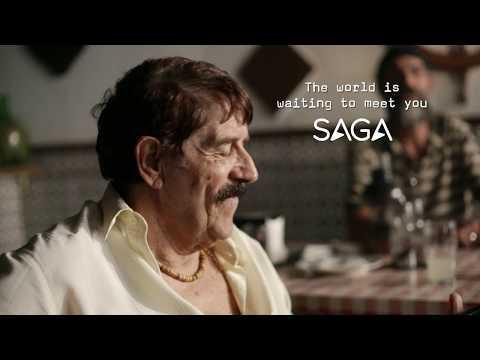 The World is Waiting to Meet You   Saga Holidays   Europe TV advert