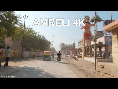 Amreli City 4K Drive Tour | Amreli city