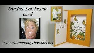 Shadow Box Frame card