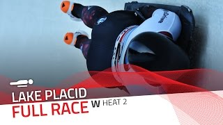 Lake Placid | BMW IBSF World Cup 2016/2017 - Women's Skeleton Heat 2 | IBSF Official