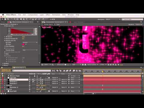 01. Getting Started With Trapcode Particular 2 - Emitter & Particle