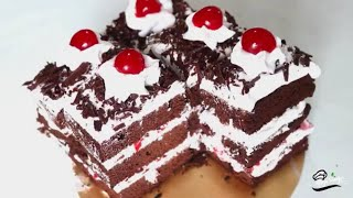 Black Forest Cake Without Oven  Black Forest Pastry Cake Recipe  Cake Recipe Without Oven