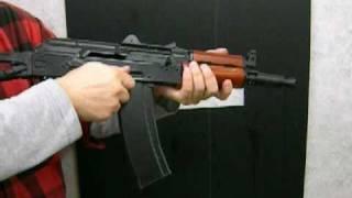 GHK製 ガスブローバック AKS74UN 試射! thumbnail