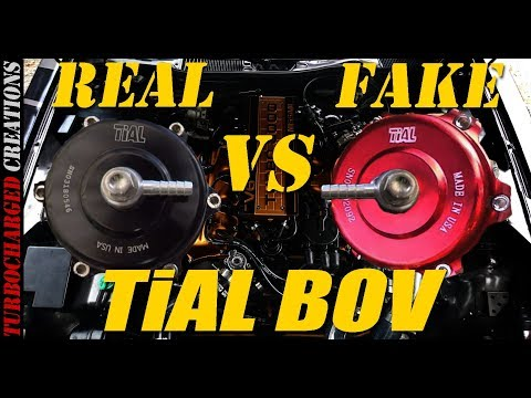 Tial BOV Real vs Fake (Tear Down and Sound)