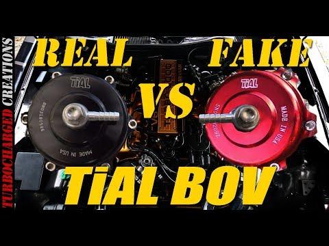 Tial BOV Real Vs Fake (Tear Down And Sound)