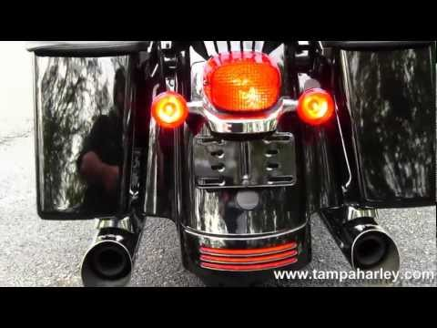 Used 2009 Harley-Davidson FLHX Street Glide with Python Exhaust for sale