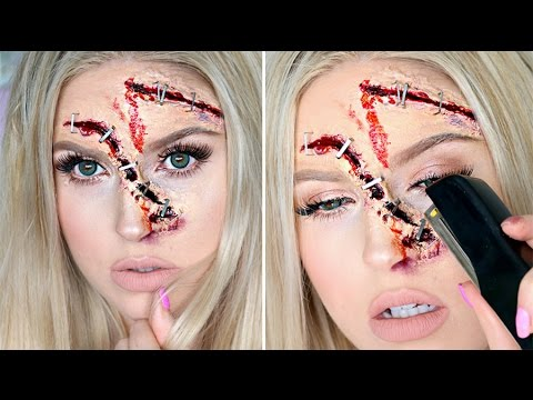 STAPLE Halloween Tutorial ♡ Stapled Wounds SFX