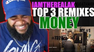 {{ REACTION }} MONEY (REMIX) - IAMTHEREALAK MY REACTION PART #2