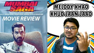 MUMBAI SAGA Film Review | Yogi Bolta Hai