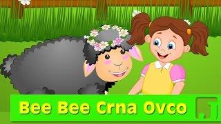 Bee bee crna ovco | Dečije pesme | Pesme za decu | Baa Baa Black Sheep