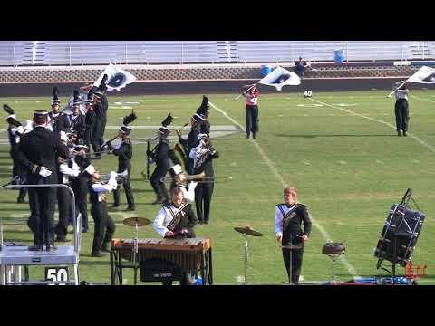 Perquimans County High School Marching Band 10/21/2017