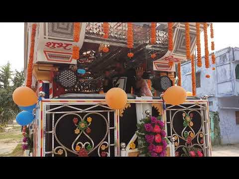 Chahat Arkestra Khanpur || तेरी जय हो गणेश || रोड शो 5-11-2018 चाहत ऑर्केष्ट्रा शो के माध्यम से