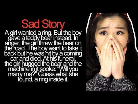 REACTING TO SAD LOVE STORIES