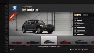 Forza Motorsport 4 - August Playseat Car Pack - Cars - [1080p]