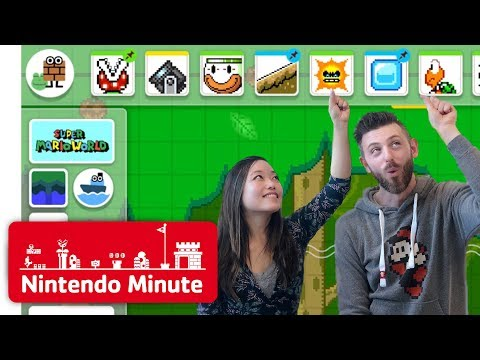 Making Our Super Mario Maker 2 Levels Gameplay - Nintendo Minute