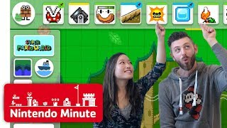 Download Making Our Super Mario Maker 2 Levels Gameplay - Nintendo Minute Mp3 and Videos