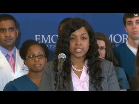 Ebola-free Amber Vinson: 'So grateful to be well'