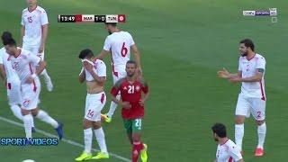 شاهد.. قبل مواجهة الفراعنة: تونس تخسر أمام المغرب وديًا