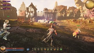 Ashes of Creation New Gameplay Trailer (New Open World MMORPG 2018)