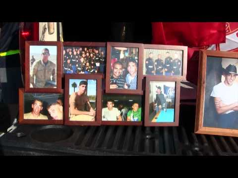 Marine honors fallen heroes one mile at a time