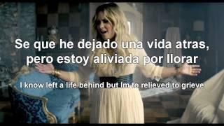 Demi Lovato - Let it go (Letra/Lyrics - Español/Ingles)