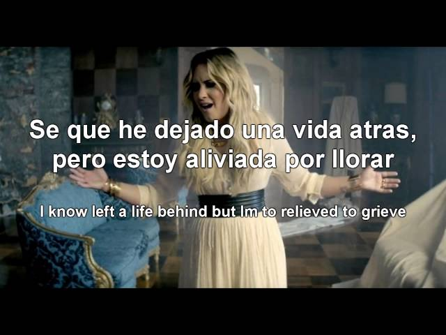 Demi Lovato - Let it go (Letra/Lyrics - Español/Ingles) Videos De Viajes
