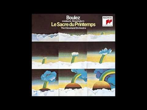 "Stravinsky ""Rite of spring"" - Pierre Boulez (1969, from LP)"