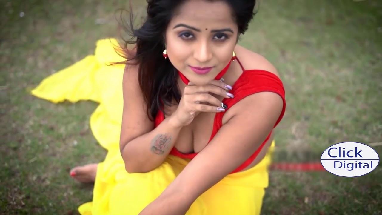 Hot Girl in saree with Big boobs show Saree fashion Saree