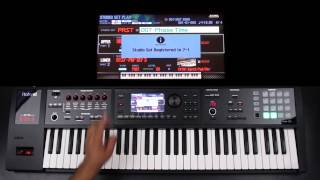 Roland FA-06/08 - How to Create Favorites