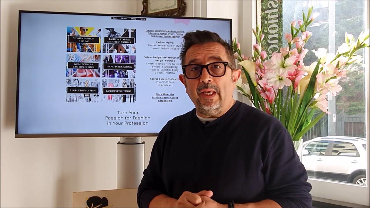 Fashion Master Course Milan Fashion Campus Youtube