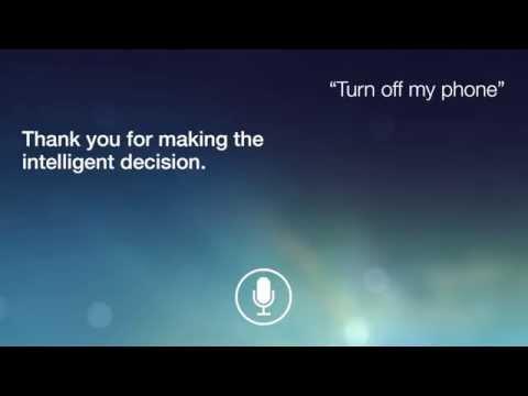 Don't Talk PSA: Siri
