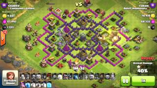 Noah's Arc Attack - Clash of Clans Every Troop