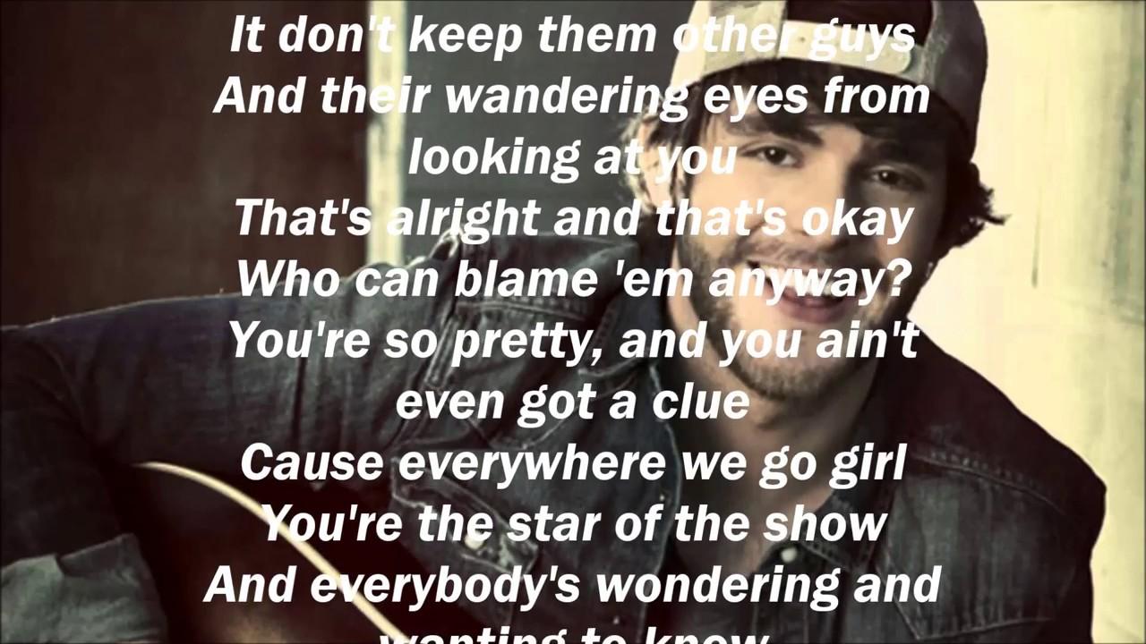 cf10db19ca2d Thomas Rhett - Star Of The Show (Lyrics) - YouTube